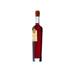 Raspberry liqueur with cognac